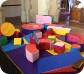 Fun activities at St John's Messy Church, Watford