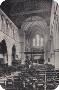 View of the interior, sometime before 1908.